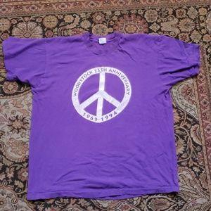 Vintage Woodstock anniversary 1994 T-shirt XL